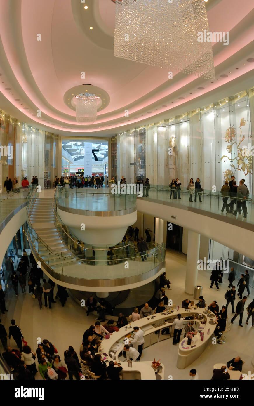 Westfield Shopping Centre Shepherd's Bush London - Stock Image