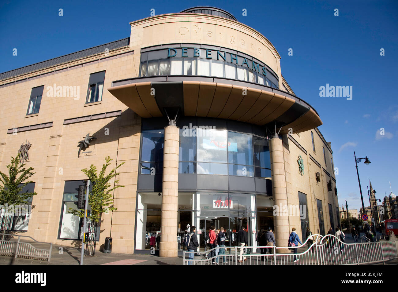 Overgate shopping centre Dundee Scotland Stock Photo