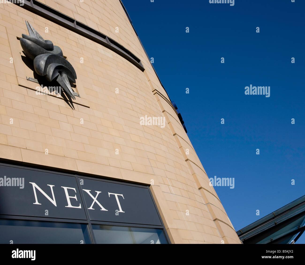 Overgate shopping centre Dundee Scotland Stock Photo