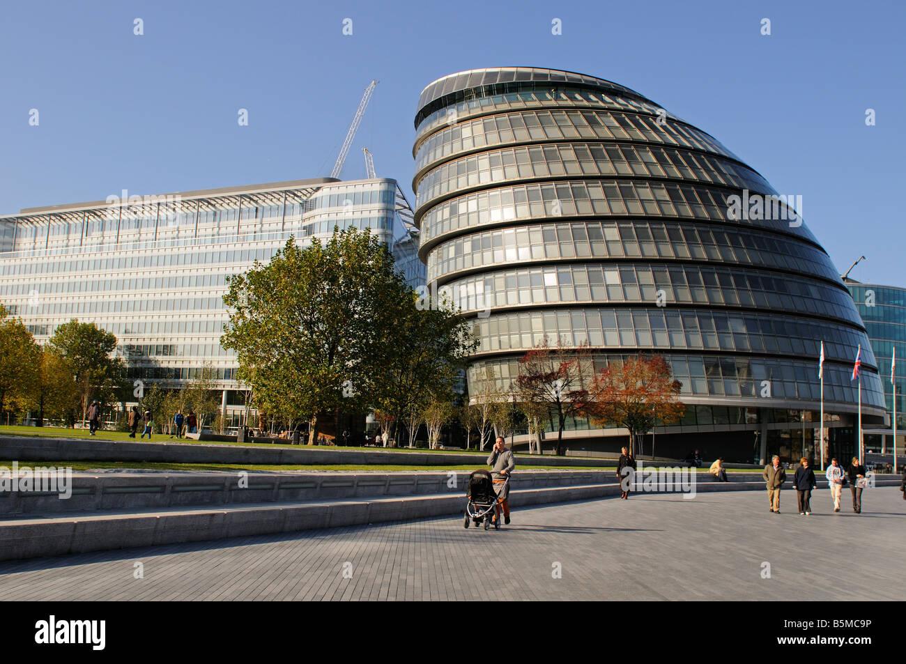 London Assembly Building Greater London Authority GLA London UK - Stock Image