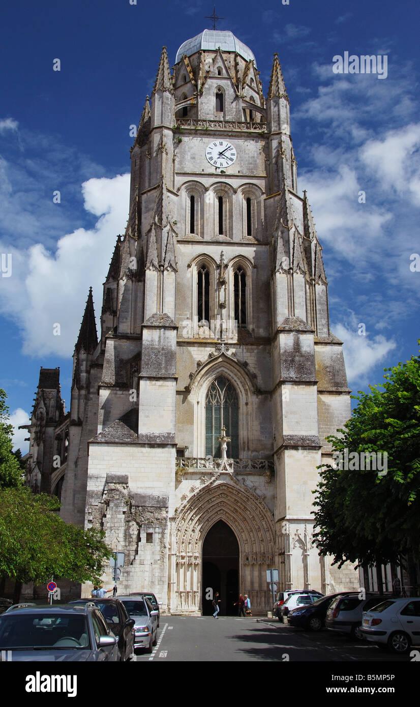 Cathedrale de St-Pierre, Saintes, France - Stock Image