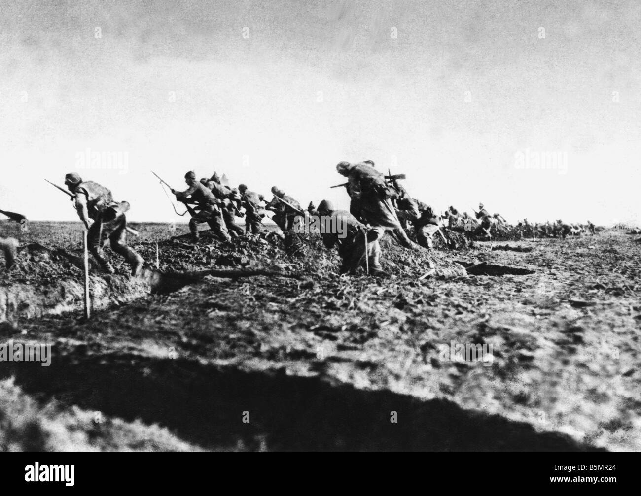 9 1917 1 0 A1 1 Turkish troops Romania WWI World War One Romania Romanian campaign August 1916 January 1917 Victory - Stock Image