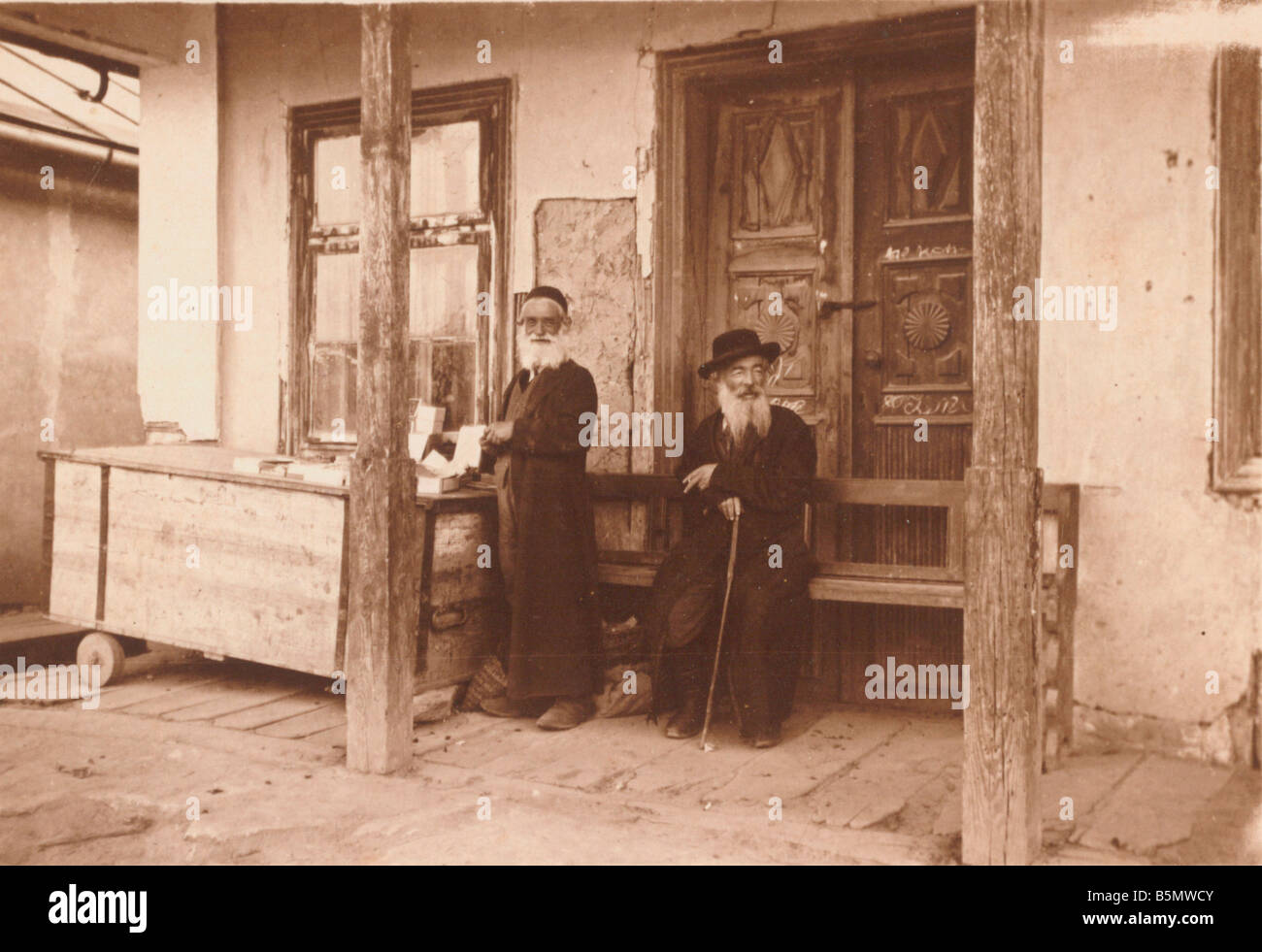 Jews in Olesko during World War 1 Photo History of Judaism Jews in Olesko East Galicia during World War 1 Photo - Stock Image