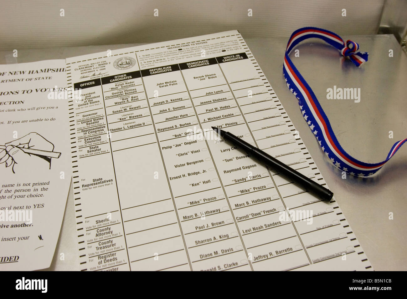 Voting Ballot High Resolution Stock Photography And Images Alamy