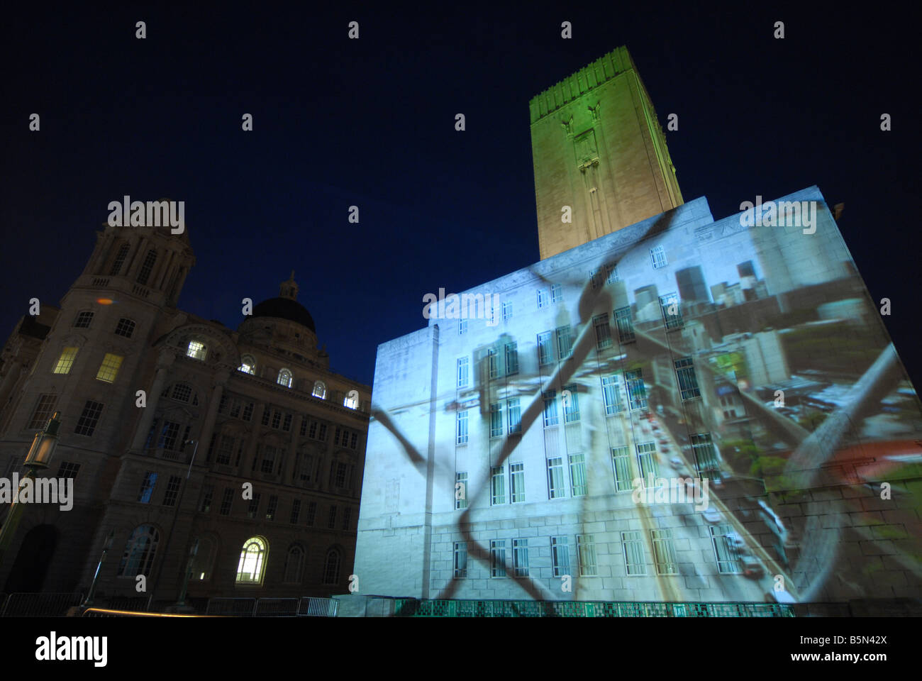 liverpool european capital of culture 2008 uk stock photos