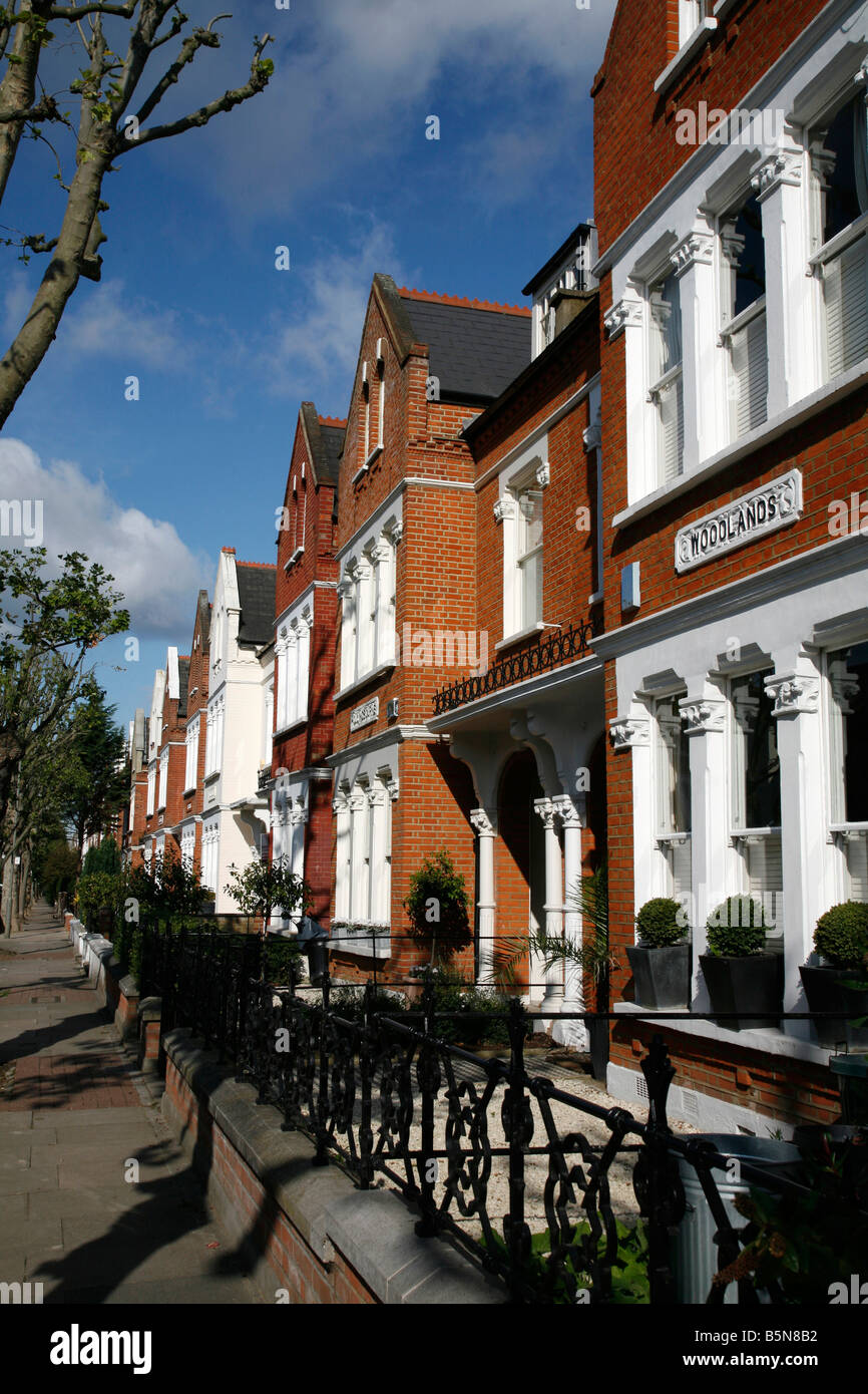 Streathbourne Road in Tooting, London - Stock Image