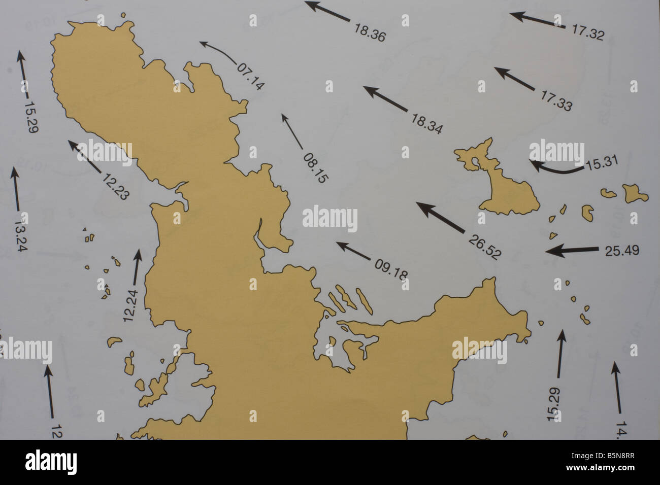 Tidal Chart Stock Photos Tidal Chart Stock Images Alamy