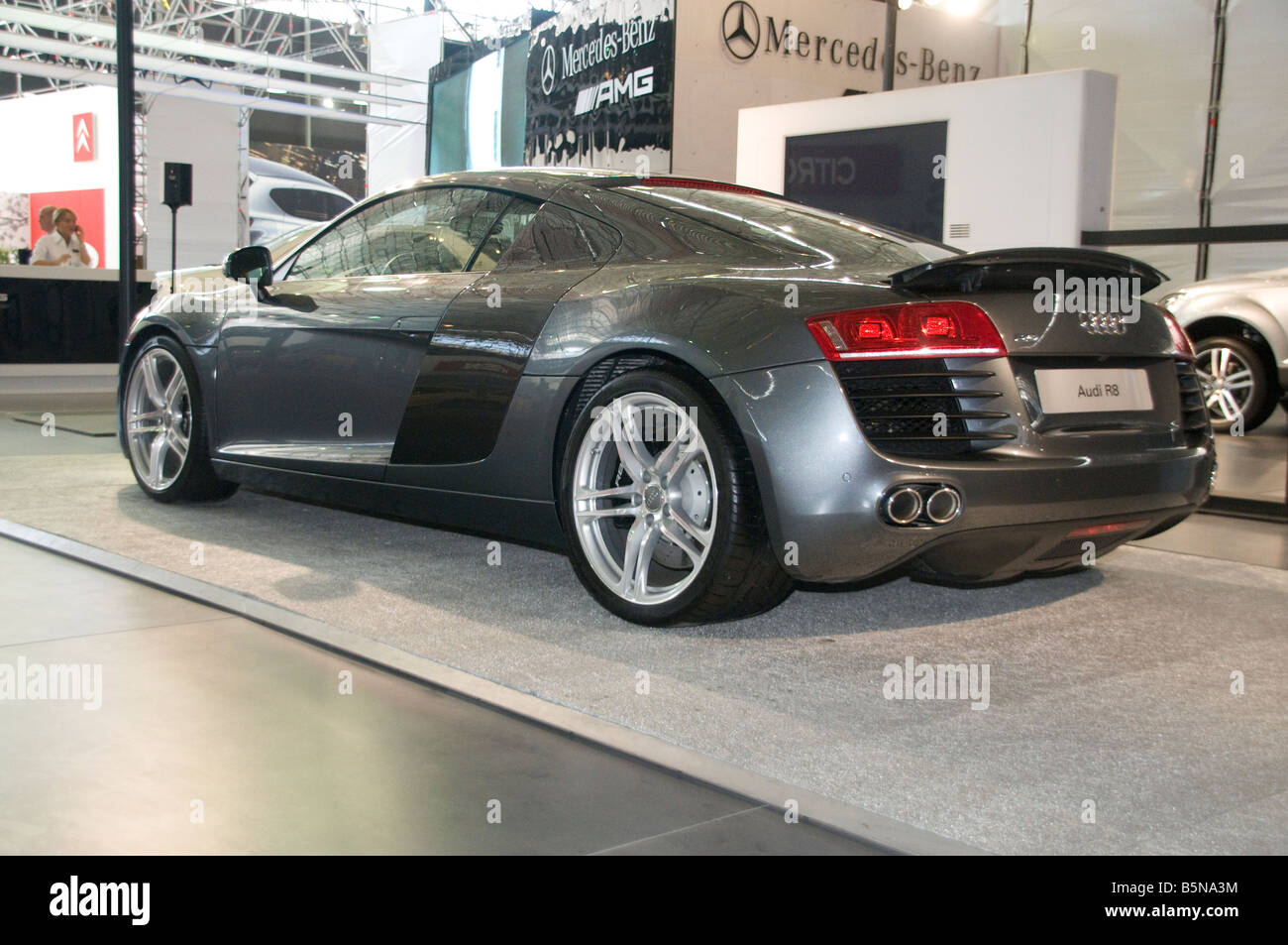 Audi R8 V10 Premiun Sports Car   Stock Image