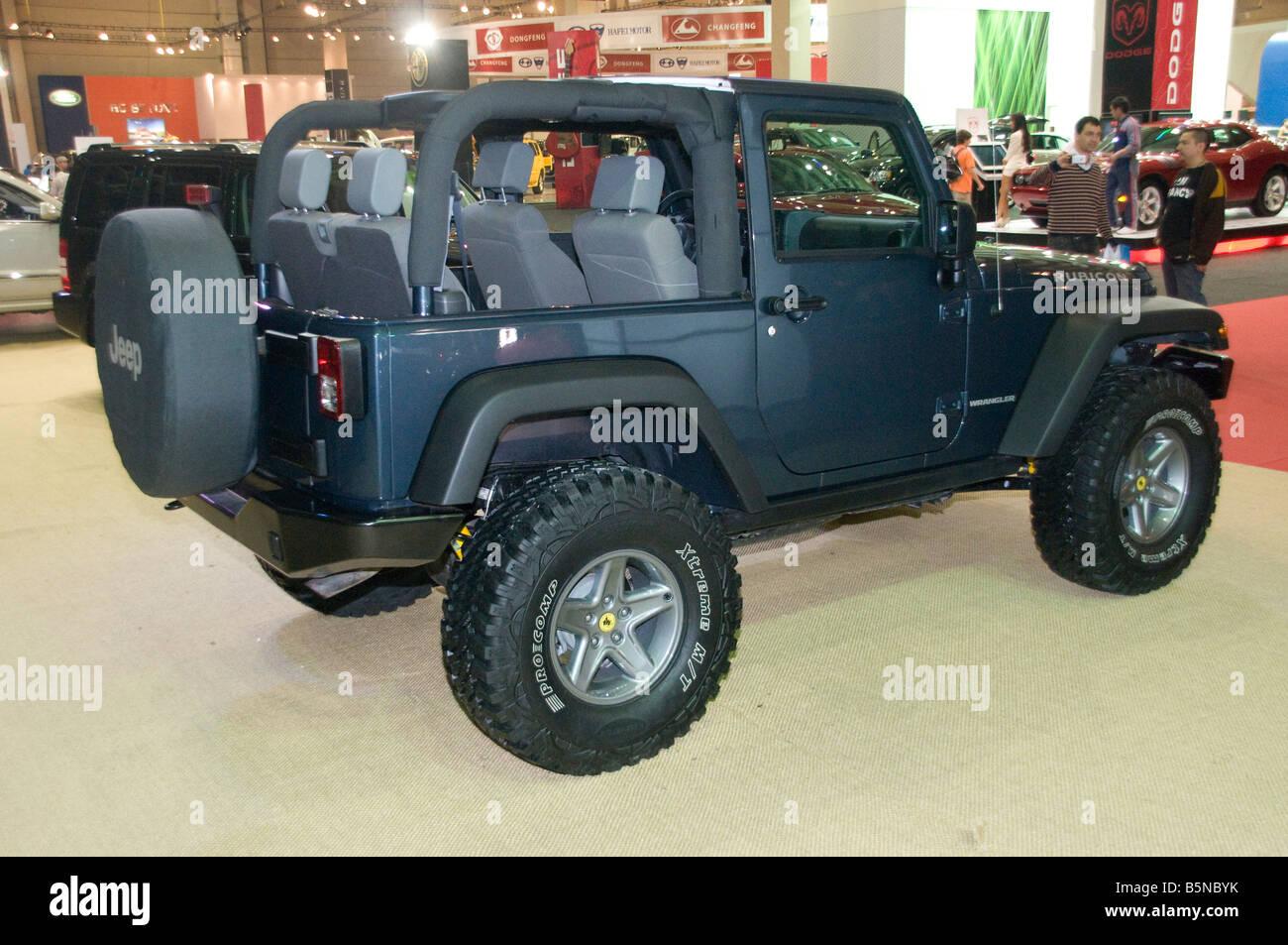 Jeep Wrangler Rubicon 2 Door 4x4 Off Road Car Stock Photo 20754039