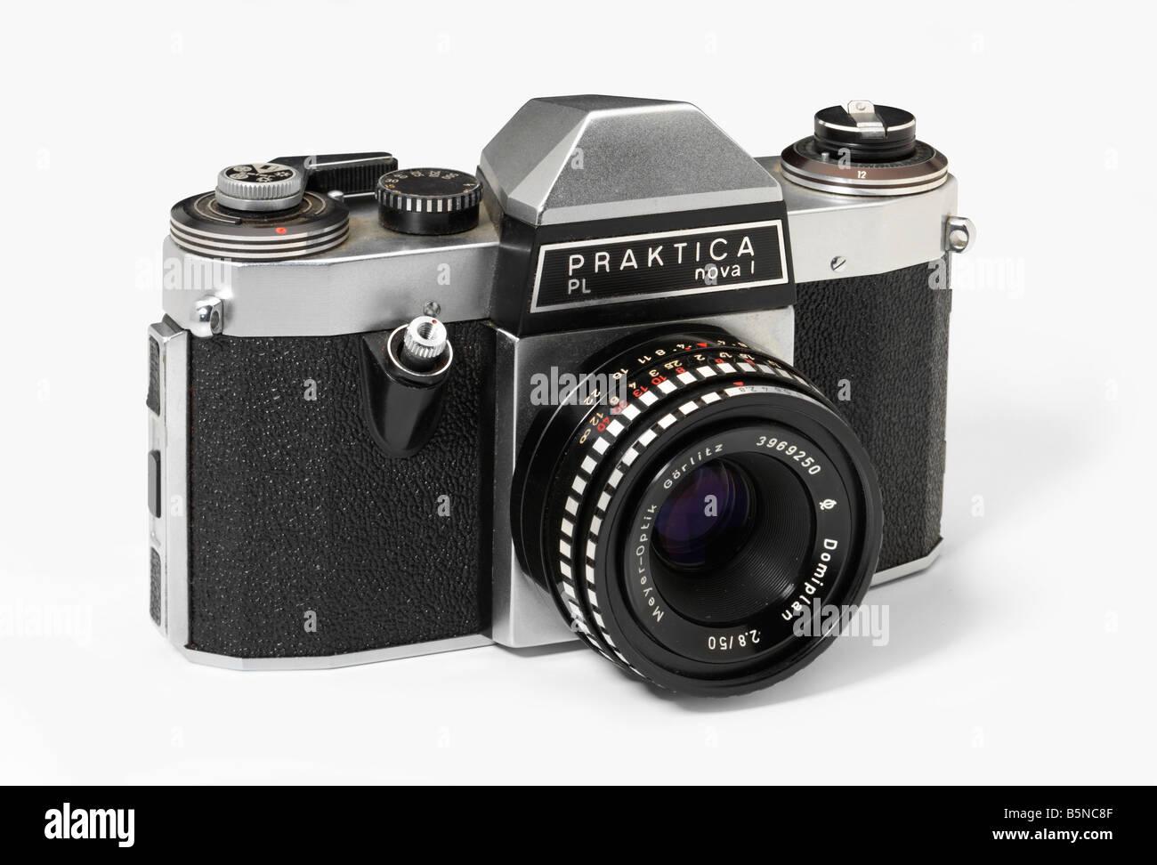 Praktica Nova 1 35mm single lens reflex camera - Stock Image