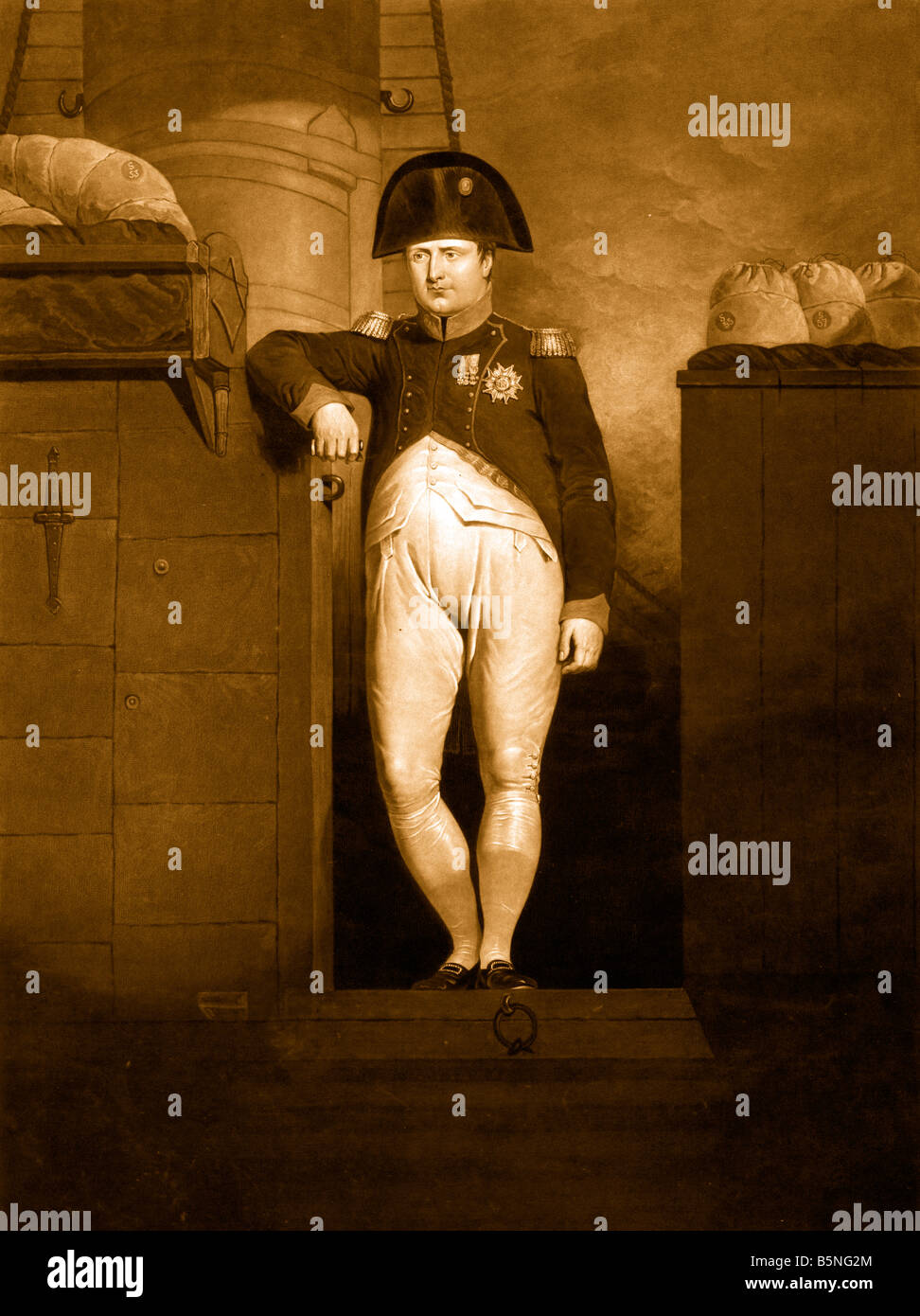 The great Napoleon Bonaparte - Stock Image