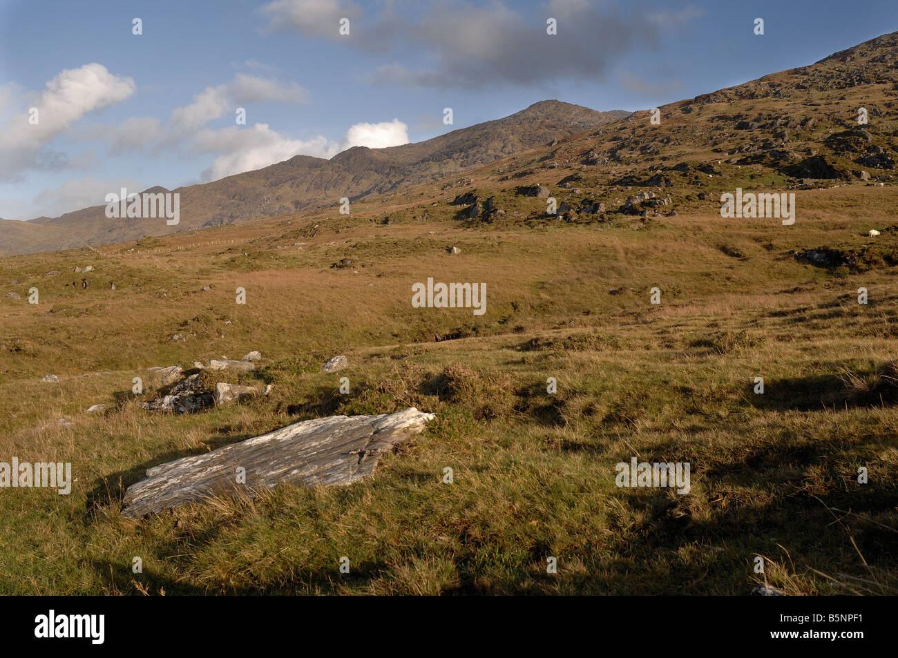 The Beara Peninsula - John Gollop - Stock Image