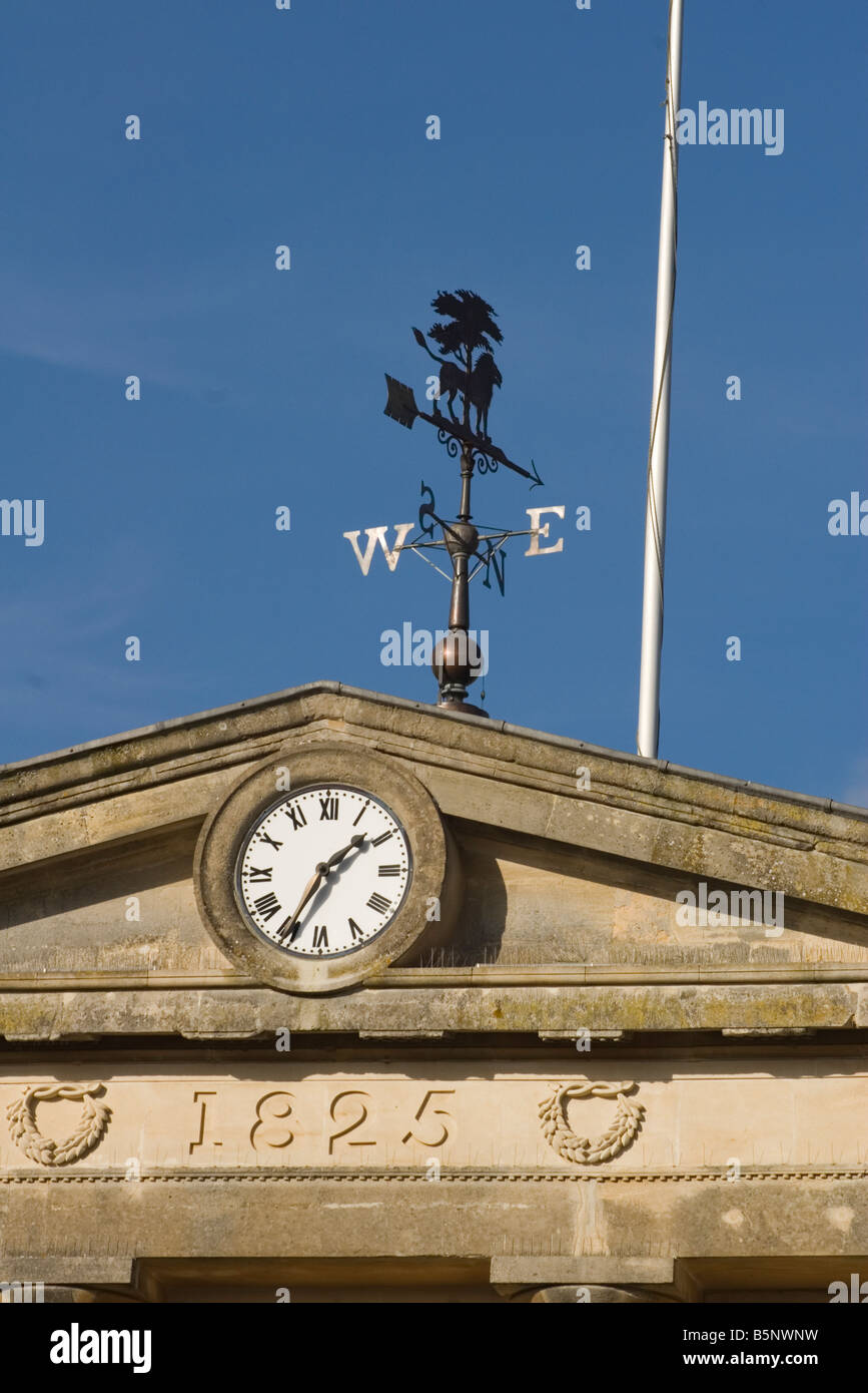 Andover Town Clock and Weather Vane Hampshire - Stock Image