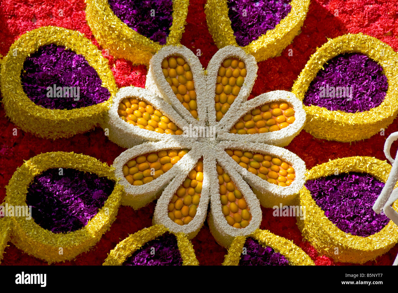 No artificial flowers stock photos no artificial flowers stock pasadena ca los angeles california tournament of roses parade float natural flowers or greenery mightylinksfo