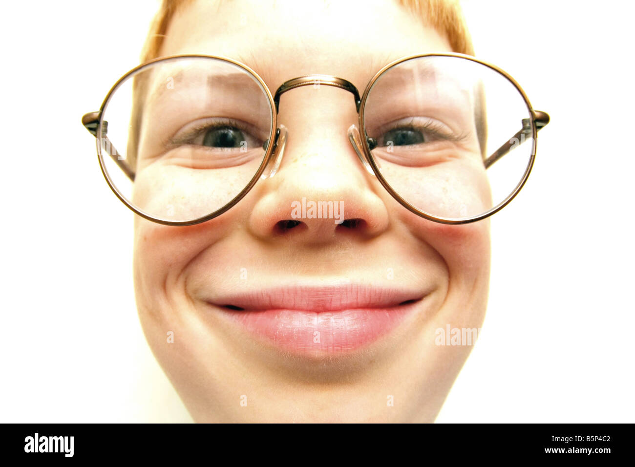 98821a9b1878 8 year old boy wearing glasses Stock Photo: 20770066 - Alamy