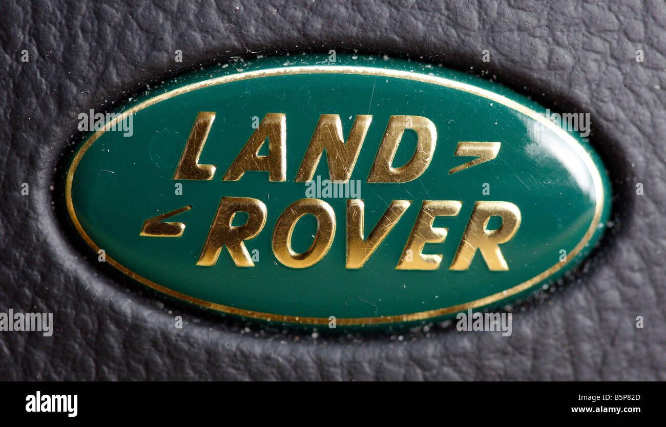 Car manufacturer Land Rover, seen here in the form of the companies