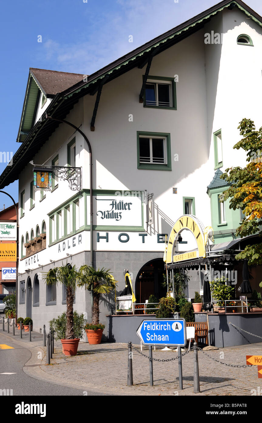 Hotel Adler Stock Photo