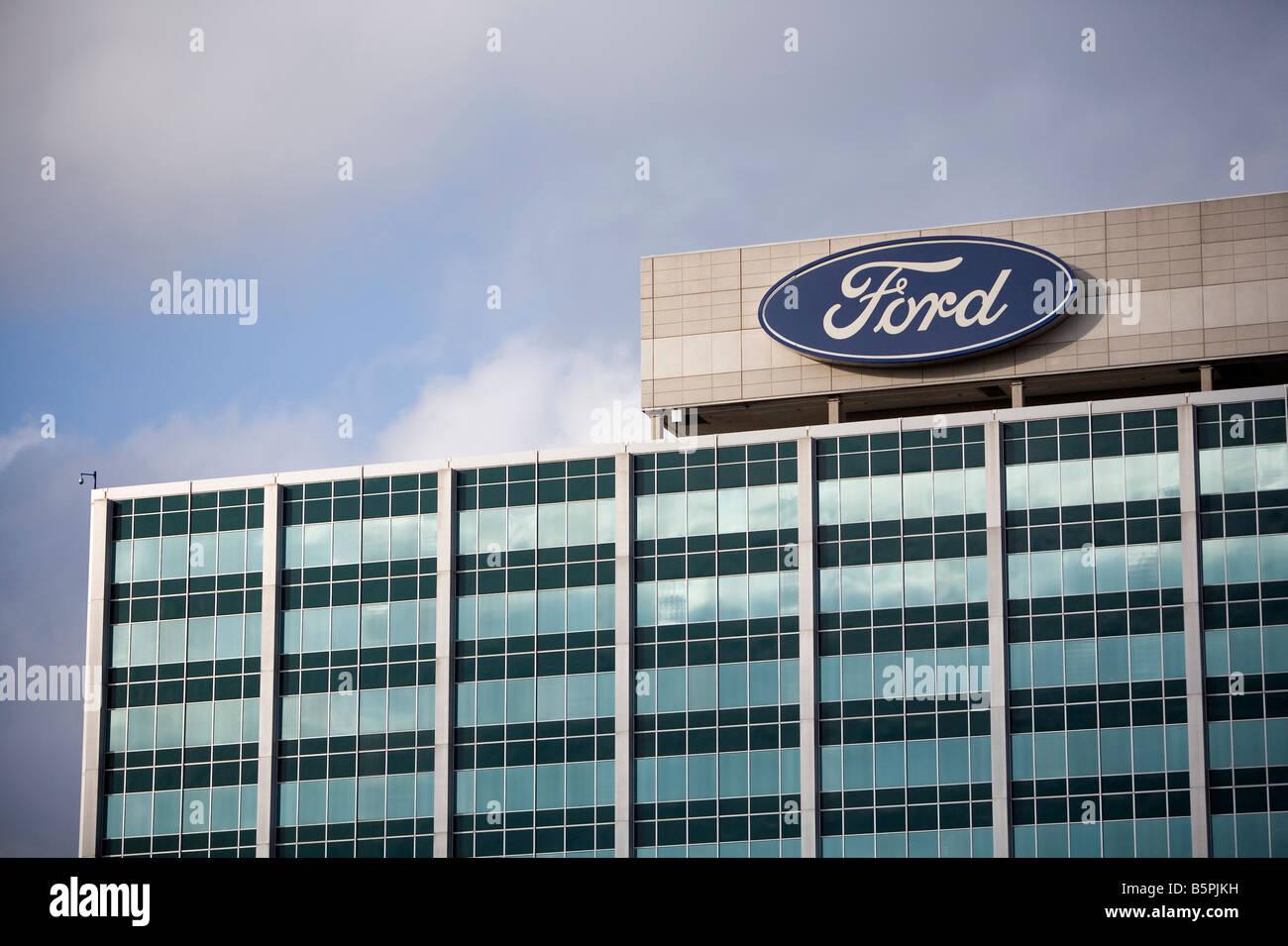 Ford motor company world headquarters in dearborn michigan