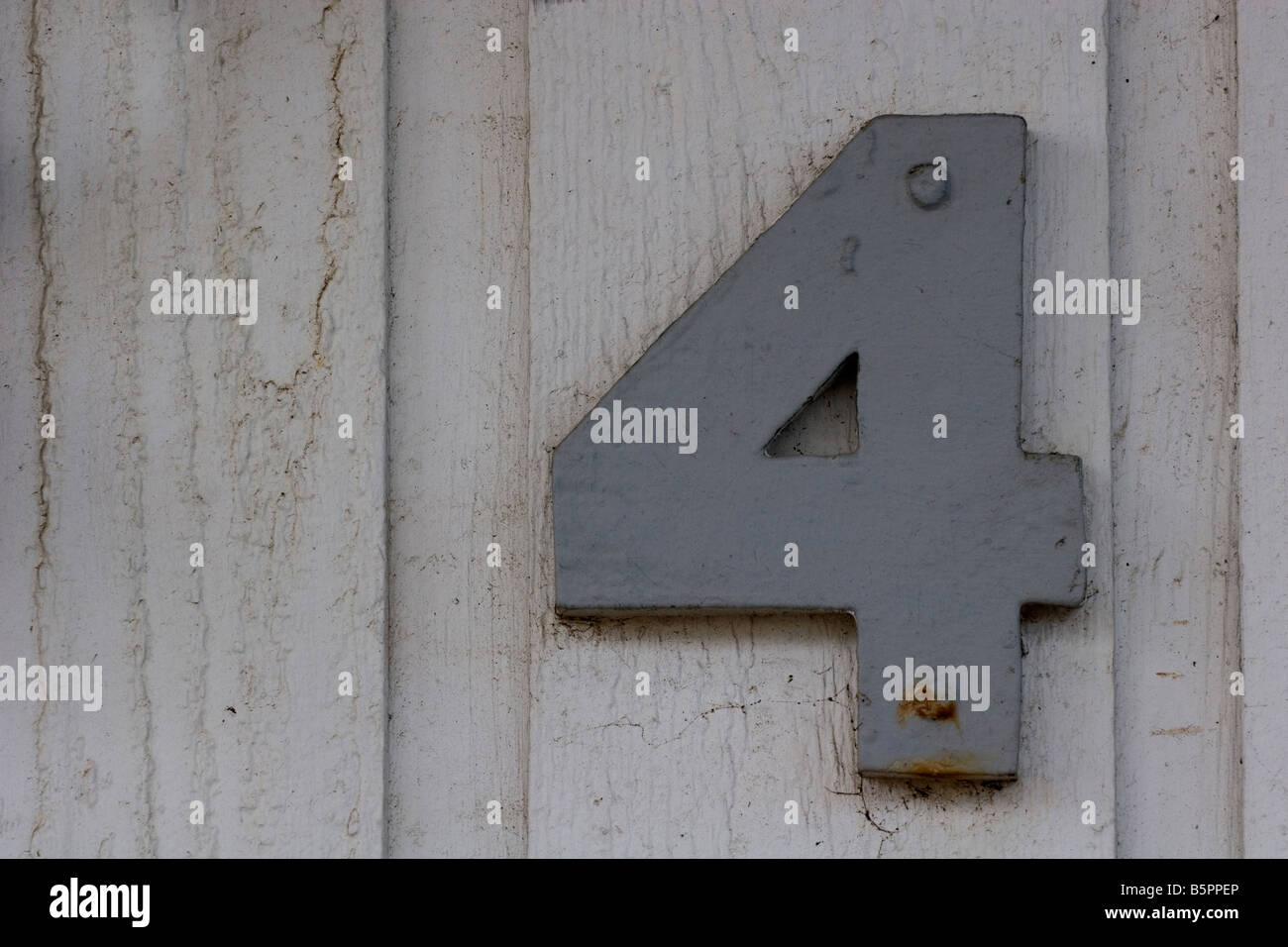 Number four - Stock Image