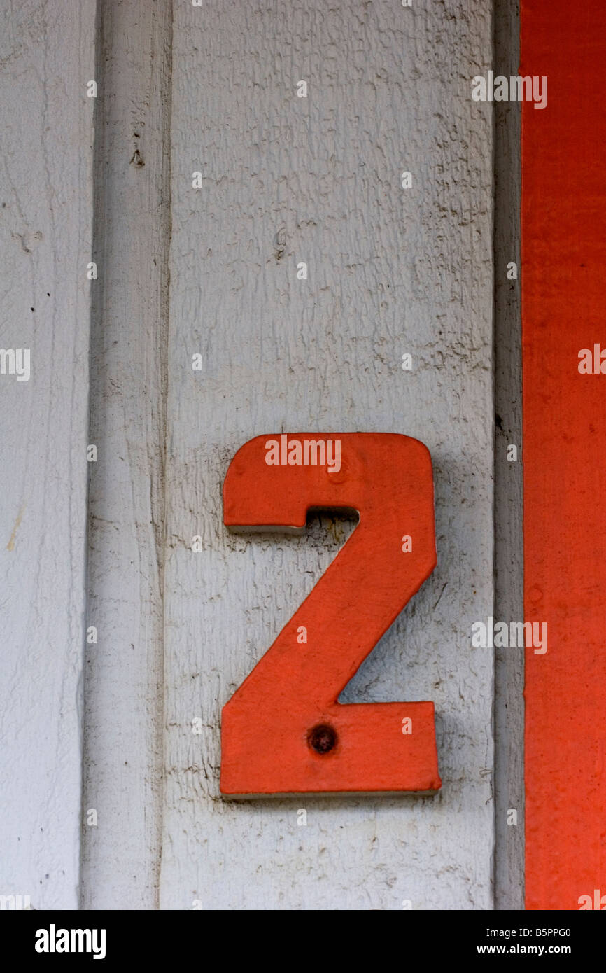 Number two - Stock Image