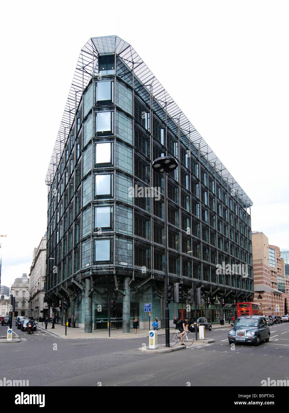 HSBC bank building Queen Victoria street London UK Stock