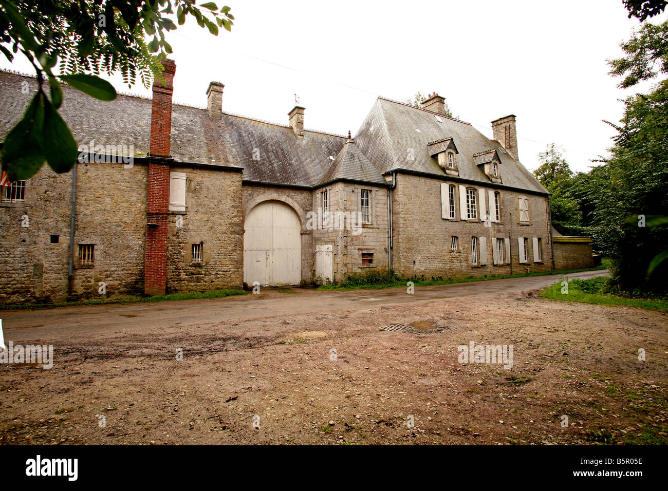 Brecourt Manor site of the famous 101st airborne (Band of Brothers ) battle on the eve of D Day, June 6th 1944,Normandy - Stock Image