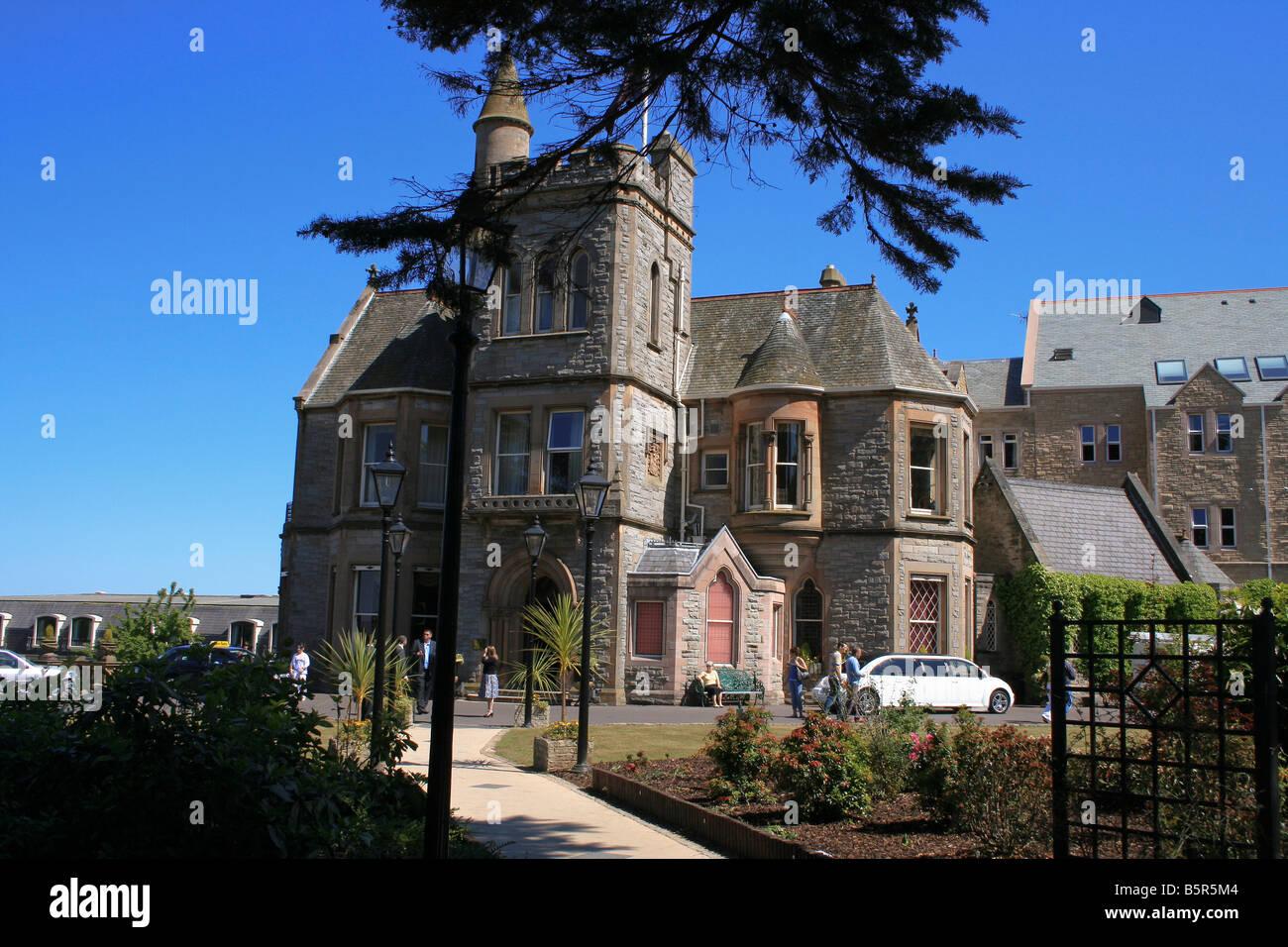The five star Culloden Hotel near Belfast Northern Ireland - Stock Image