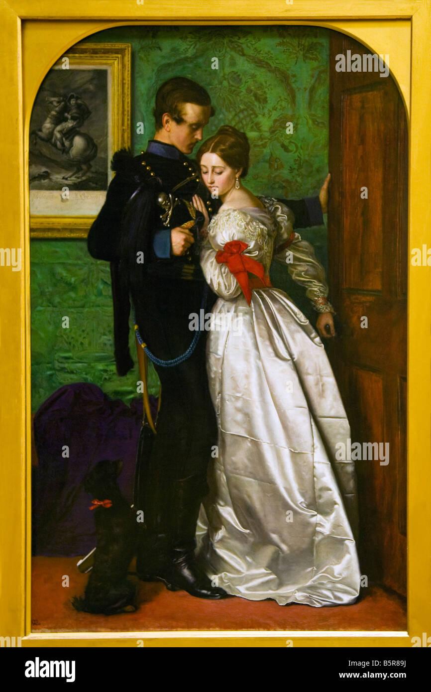 Black Brunswickers John Everett Millais 1860 Lady Lever Gallery Port Sunlight Model Village Wirral - Stock Image