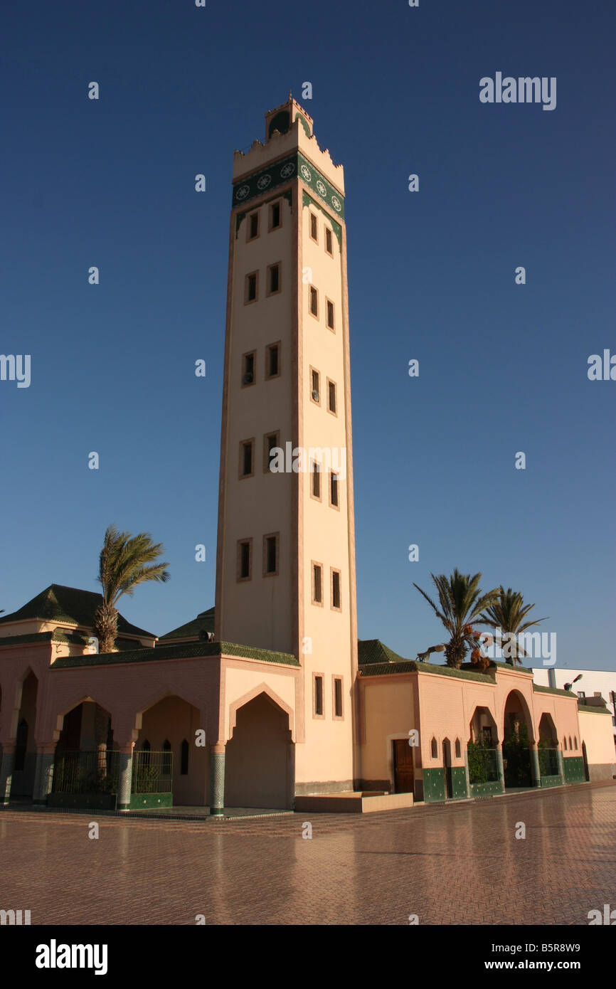 Mosque in Dakhla Western Sahara - Stock Image