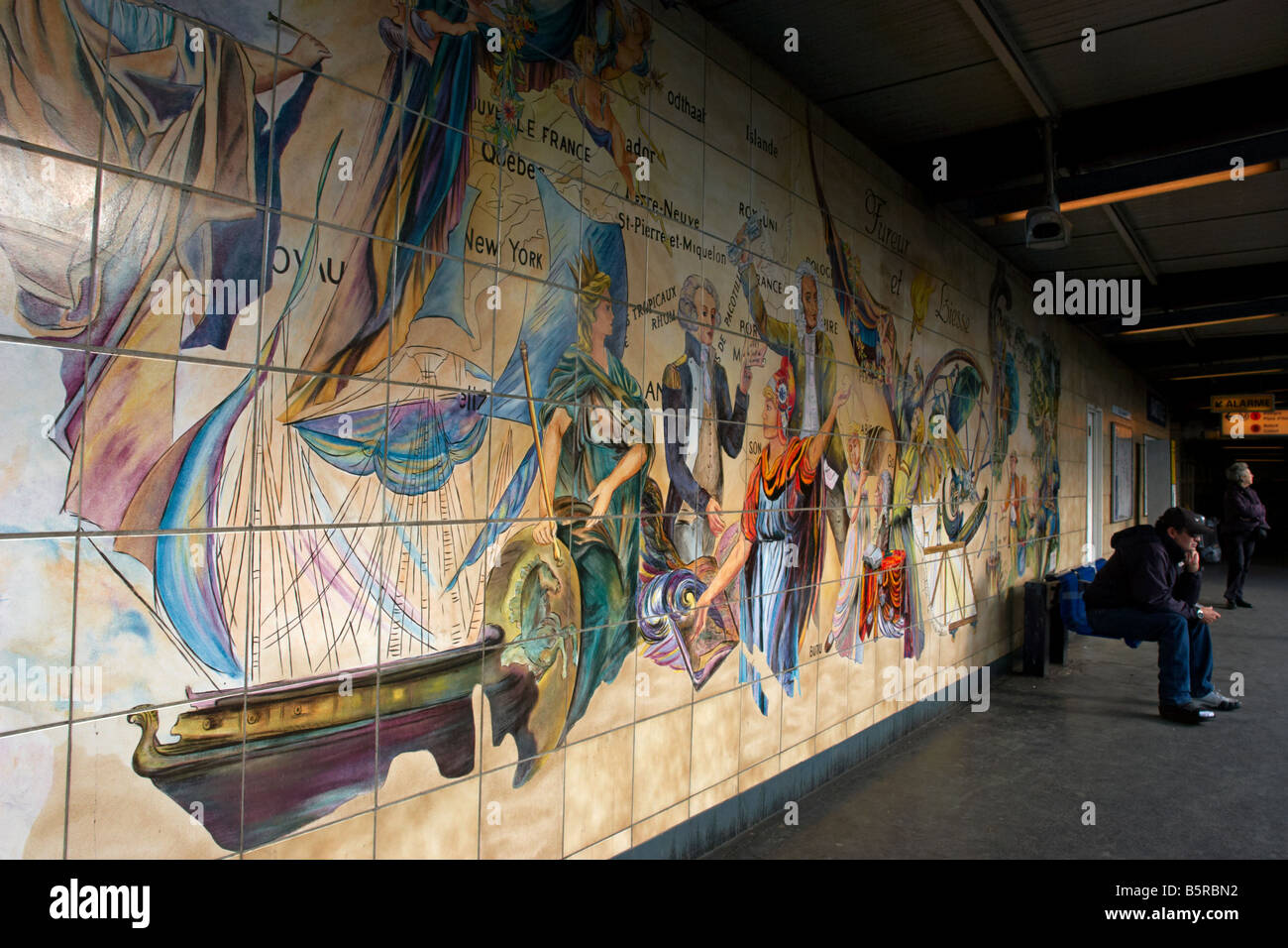 Wall Mural Bastille Station Paris Stock Photos Wall Mural Bastille