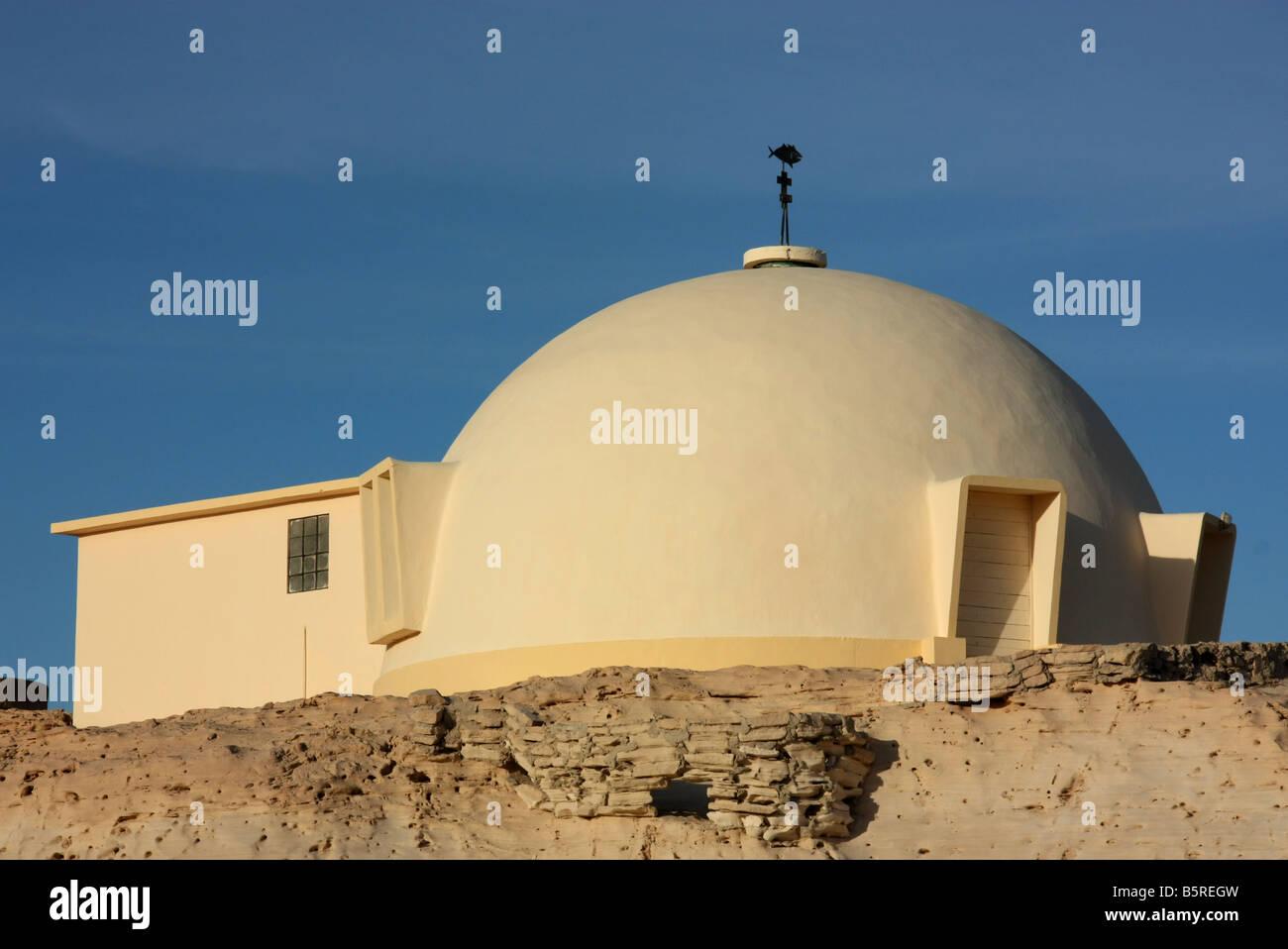 Christian church in Nouadhibou Mauritania Western Sahara - Stock Image