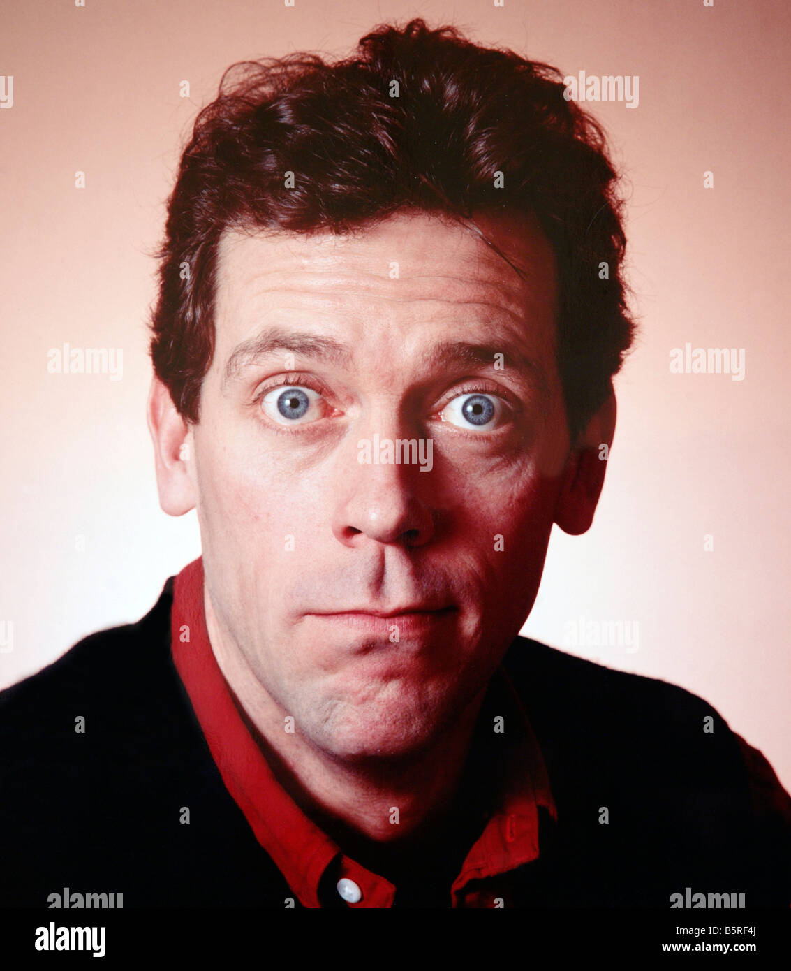 Actor comedian Hugh Laurie currently in US TV series 'House' - Stock Image