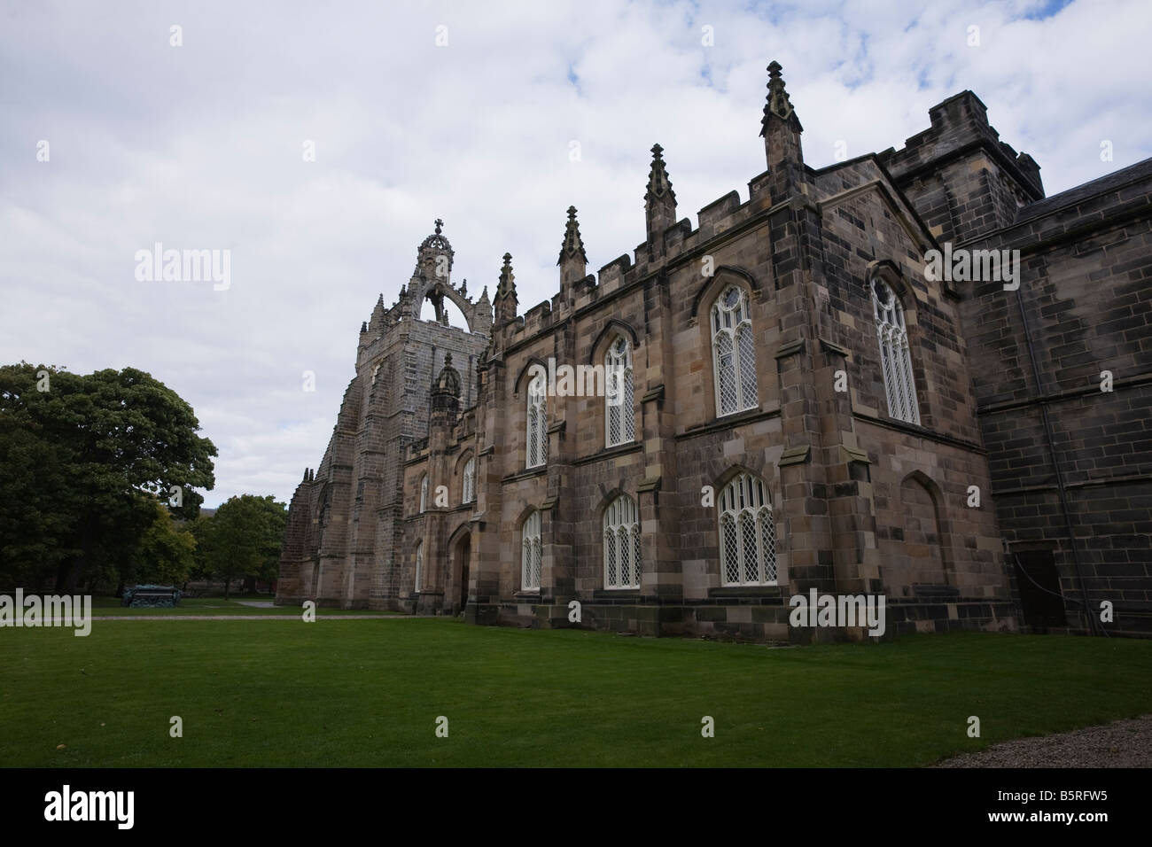 Old Aberdeen King s College Chapel - Stock Image
