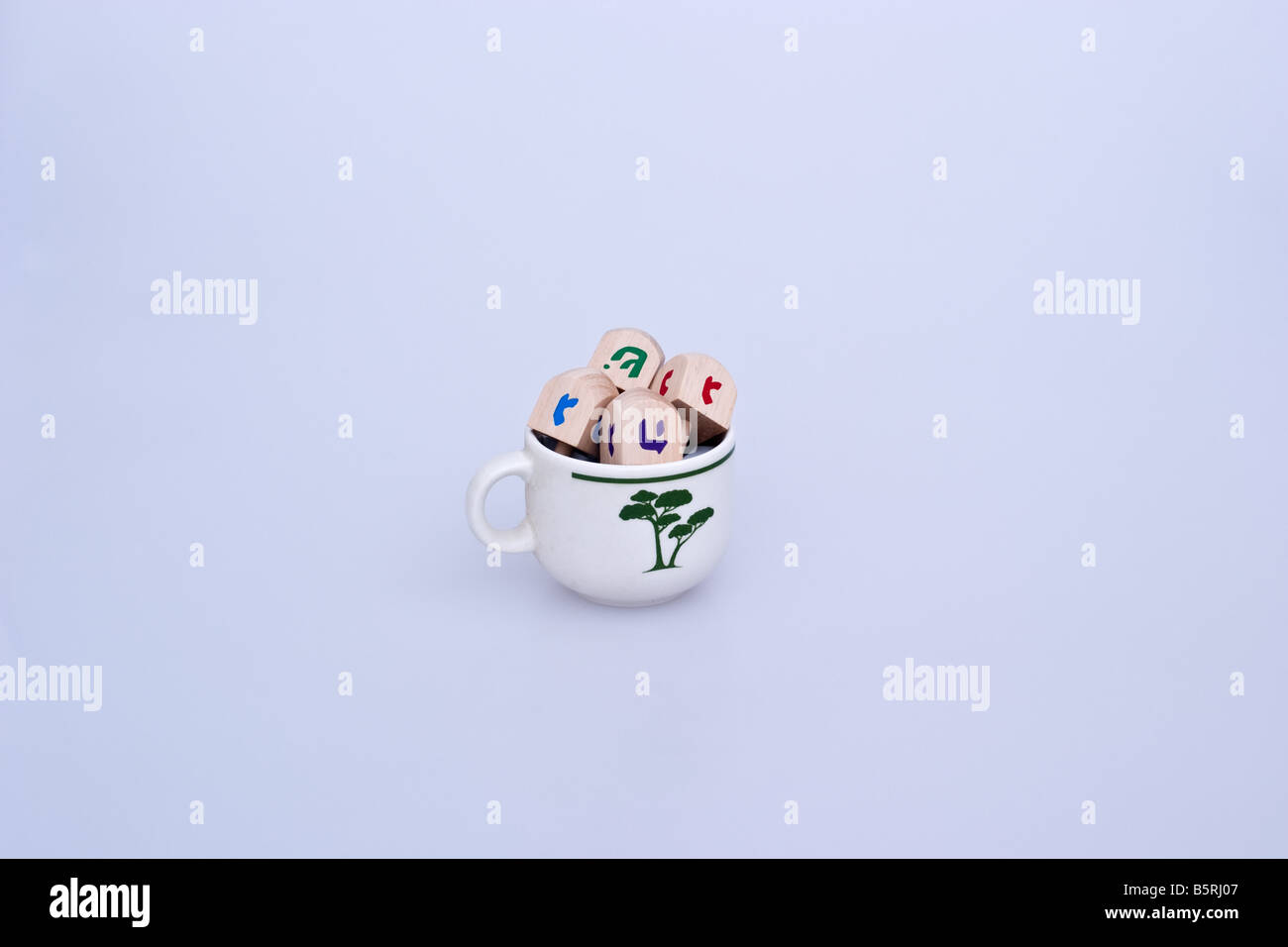 Dradels in a small tea cups - Stock Image