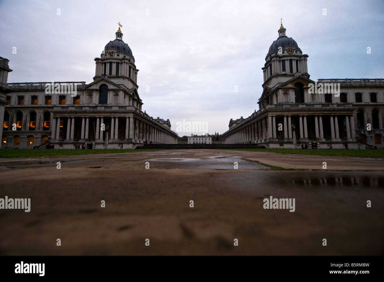 Greenwich University, The Trinity School of Music, Greenwich (Formerly Royal Naval College) - Stock Image
