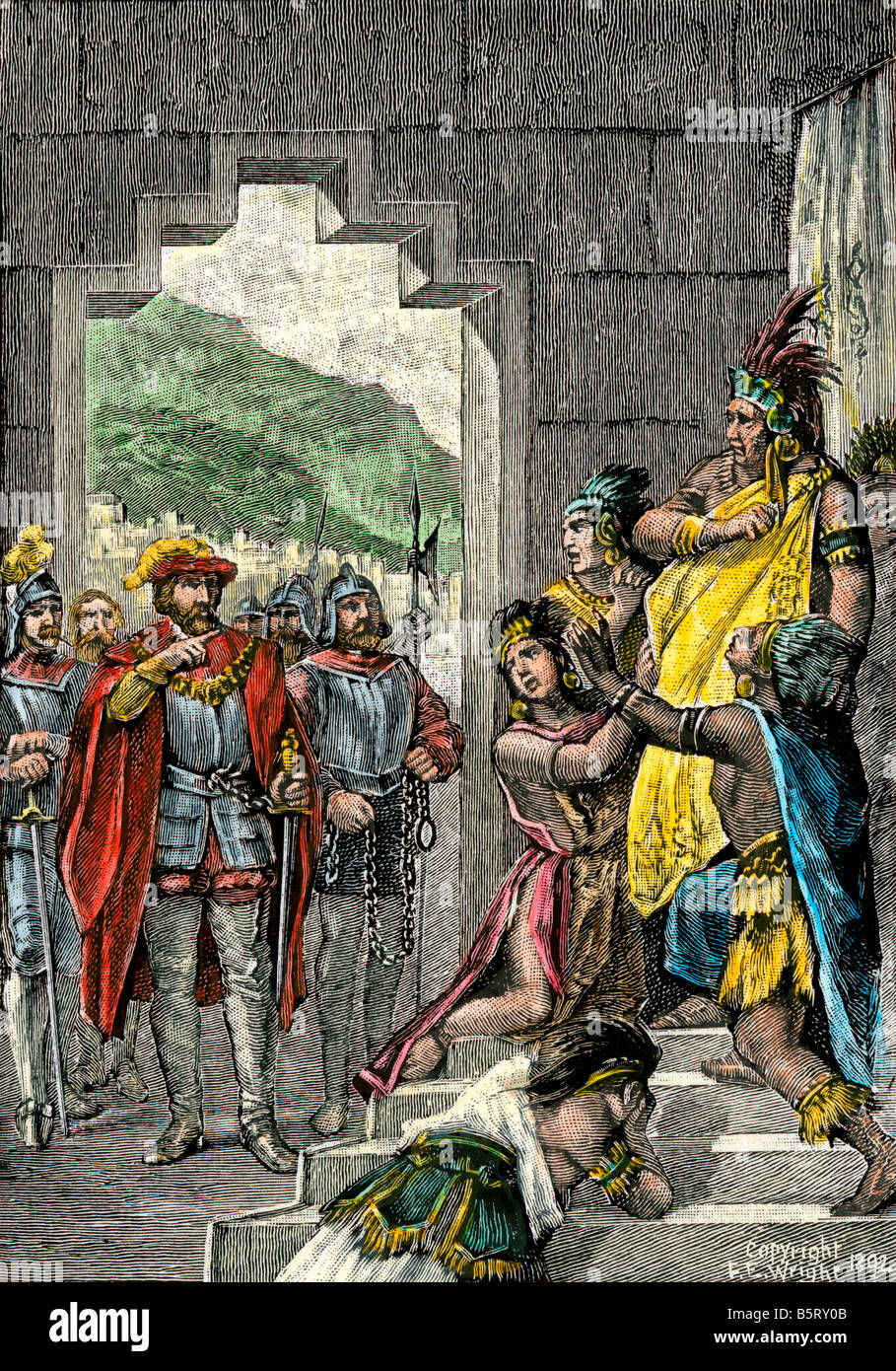 spanish and incan advantages during the The spanish had no idea at first how lucky they were to be alive after they entered the capital city the spanish were looking for people to convert to the catholic religion, and gold to capture boy, did they people and gold.
