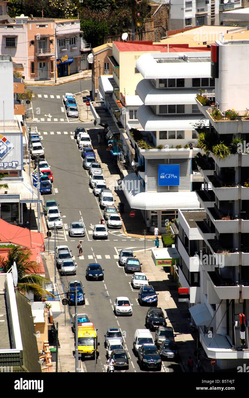 Sreet scene Noumea New Caledonia - Stock Image