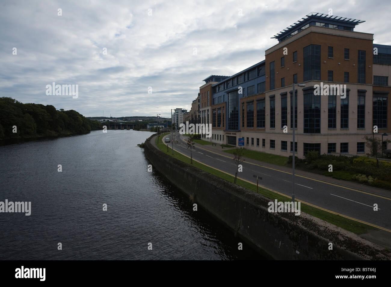 Riverside House in Aberdeen UK Stock Photo