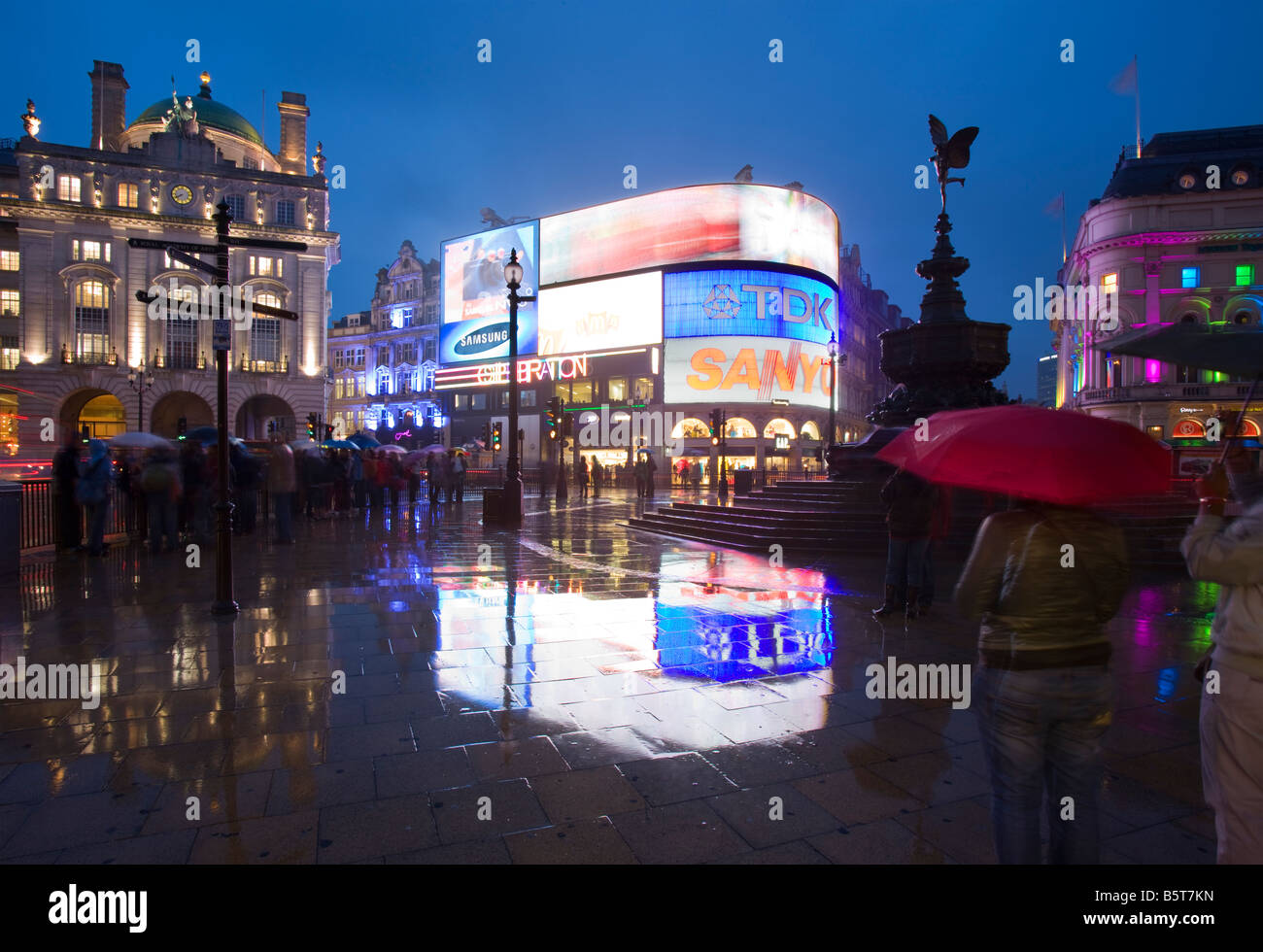 UK London Picadilly Circus - Stock Image