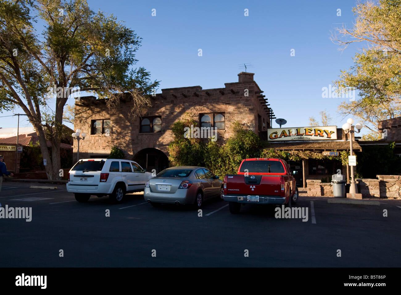 Cameron Indian Trading Post Navajo Reservation Arizona - Stock Image