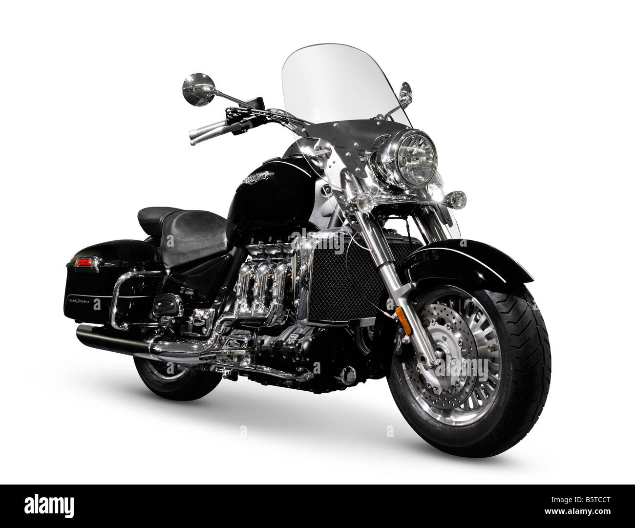 2008 Triumph Rocket III Touring motorbike - Stock Image