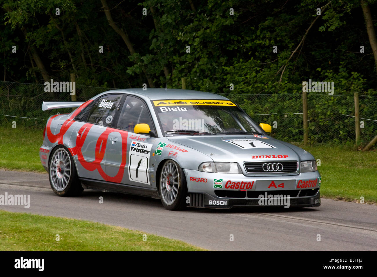 https://c8.alamy.com/comp/B5TFJ3/1996-audi-quattro-a4-btcc-contender-with-driver-frank-biela-at-goodwood-B5TFJ3.jpg