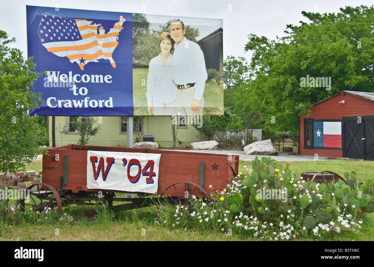 Texas Crawford Location Of President George W Bush Ranch Welcome