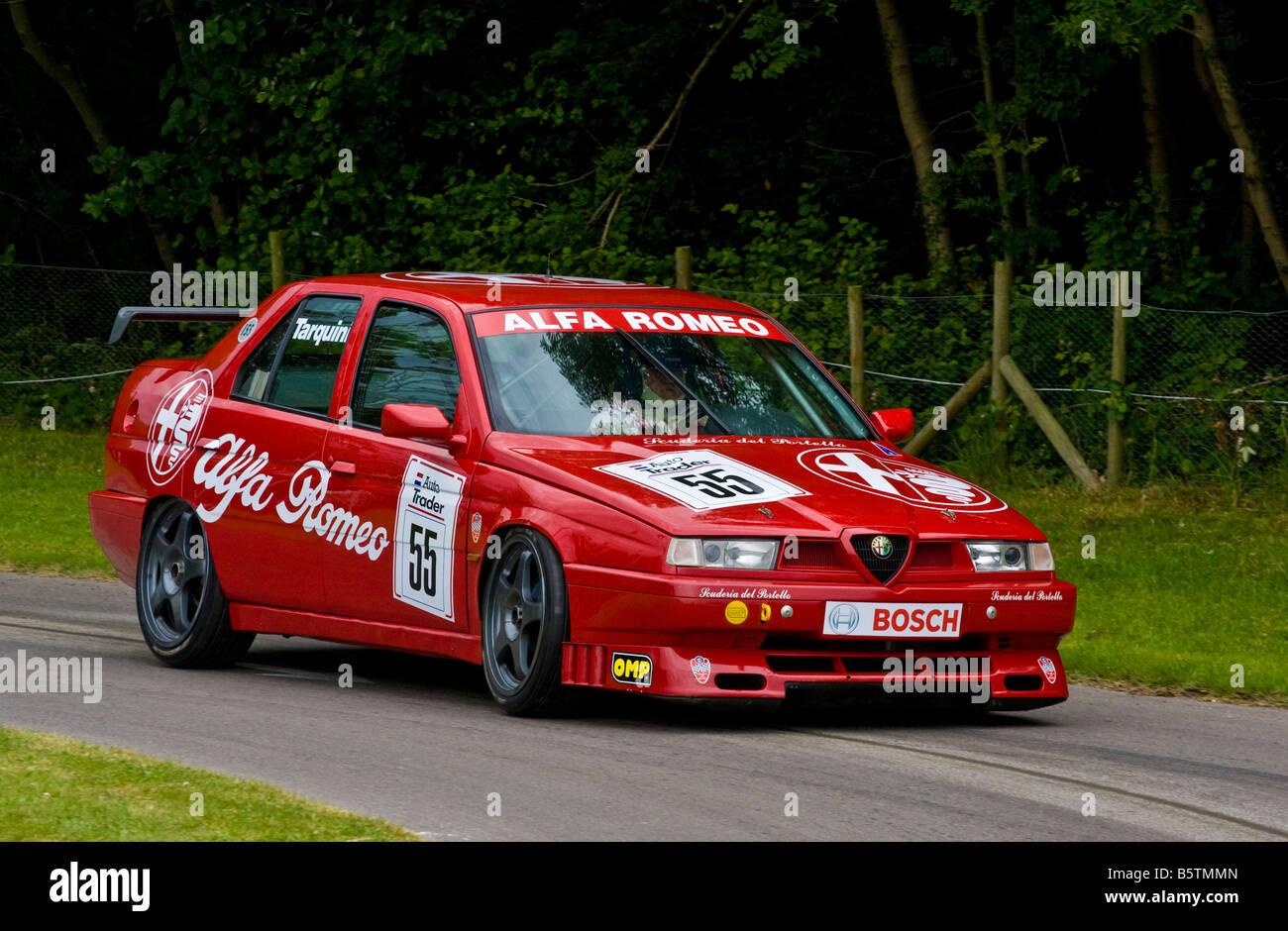 1994 Alfa Romeo 155 TS BTCC contender with driver Marco Cajani at ...