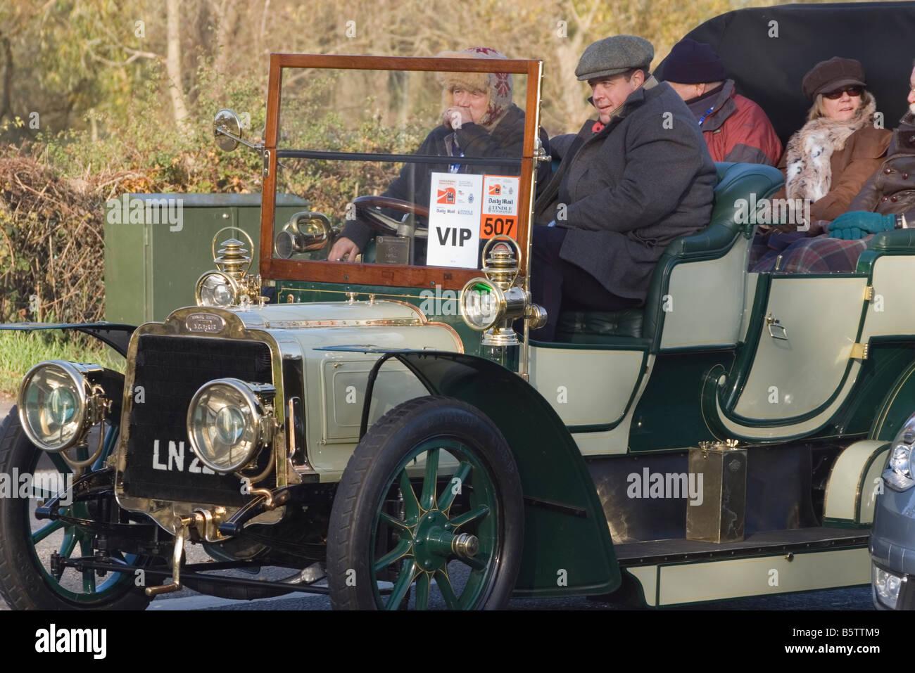 Mors Car London to Brighton Veteran Car Run 2007 Vintage Cars Stock ...