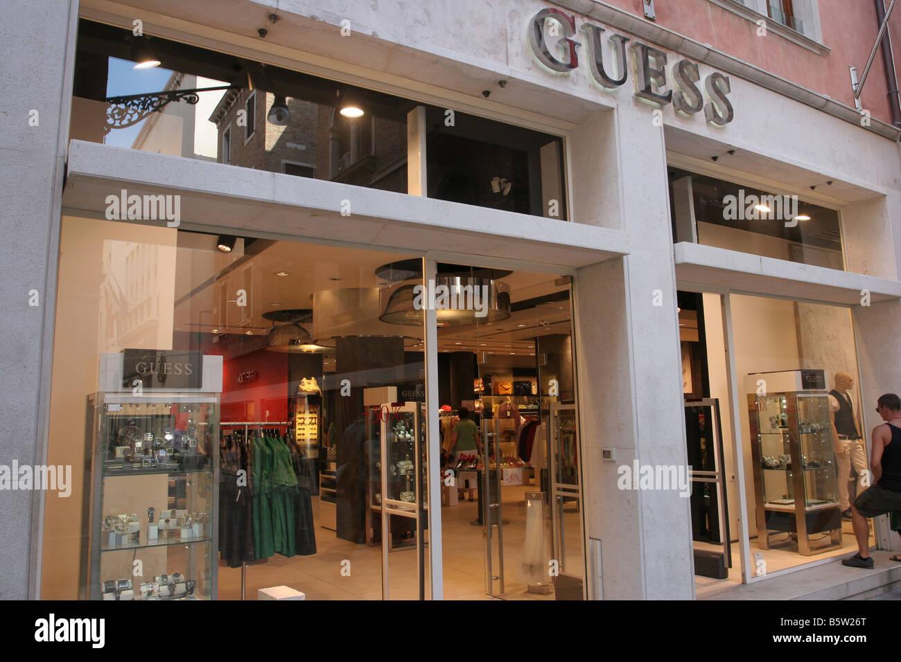 Guess Shop Stock Photos & Guess Shop Stock Images - Alamy