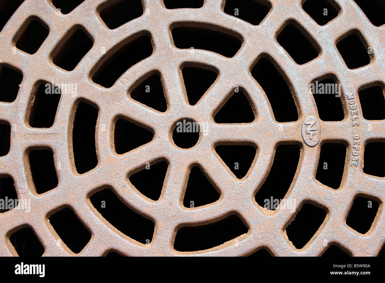 Drain cover - Stock Image