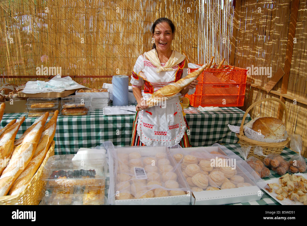 Bread Of The Canary Islands Stock Photos & Bread Of The