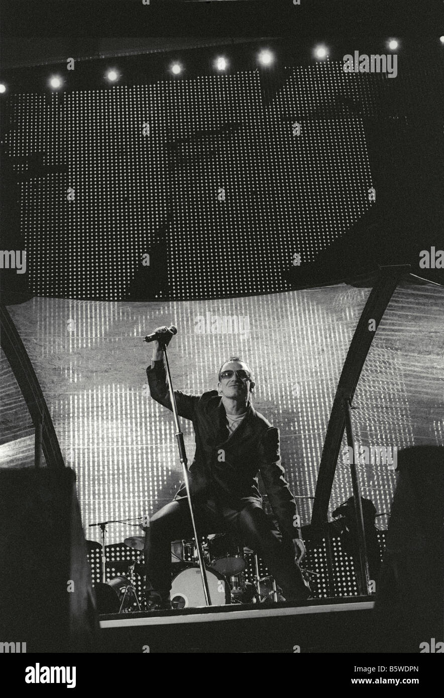 BONO - U2 - Stock Image