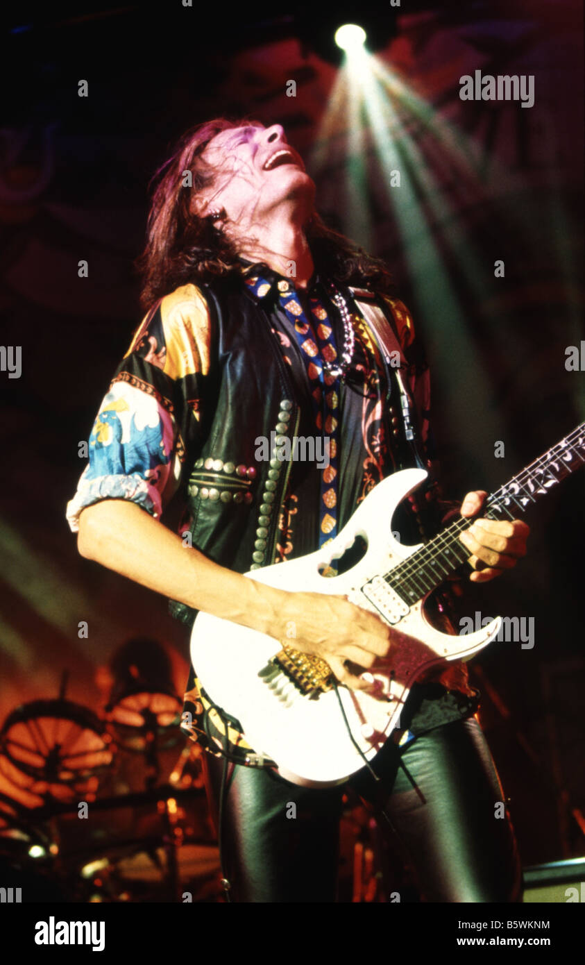 Steve Vai Us Rock Musician Stock Photo 20847952 Alamy